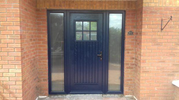 Dublin Style Blue Front Door