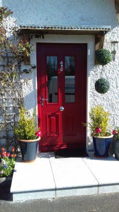 Palermo Glazed Red Door
