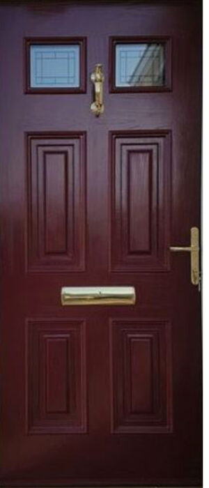 Georgian Glazed Door